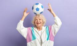 Old lady football (Large)